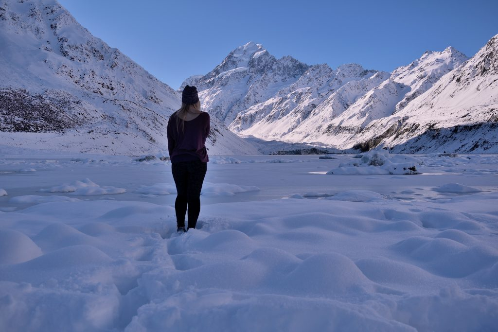 Winter Wonderland is the Hooker Valley Track