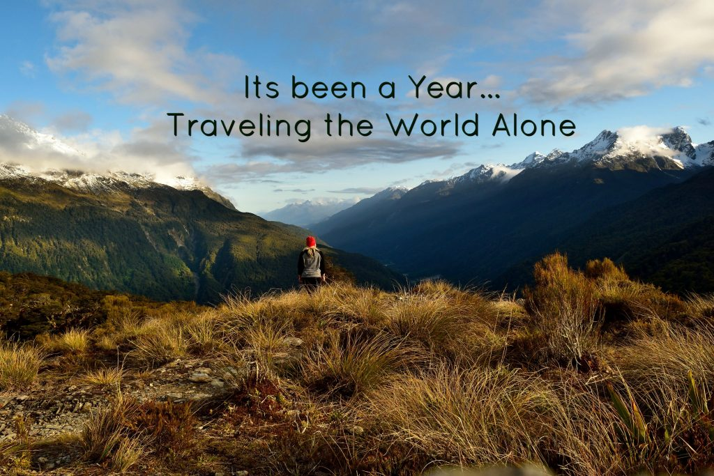 A Year Traveling the World Alone…