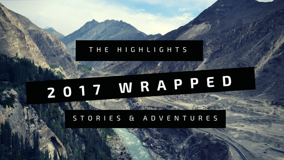 2017 Wrapped: The highlights, adventures and best stories.