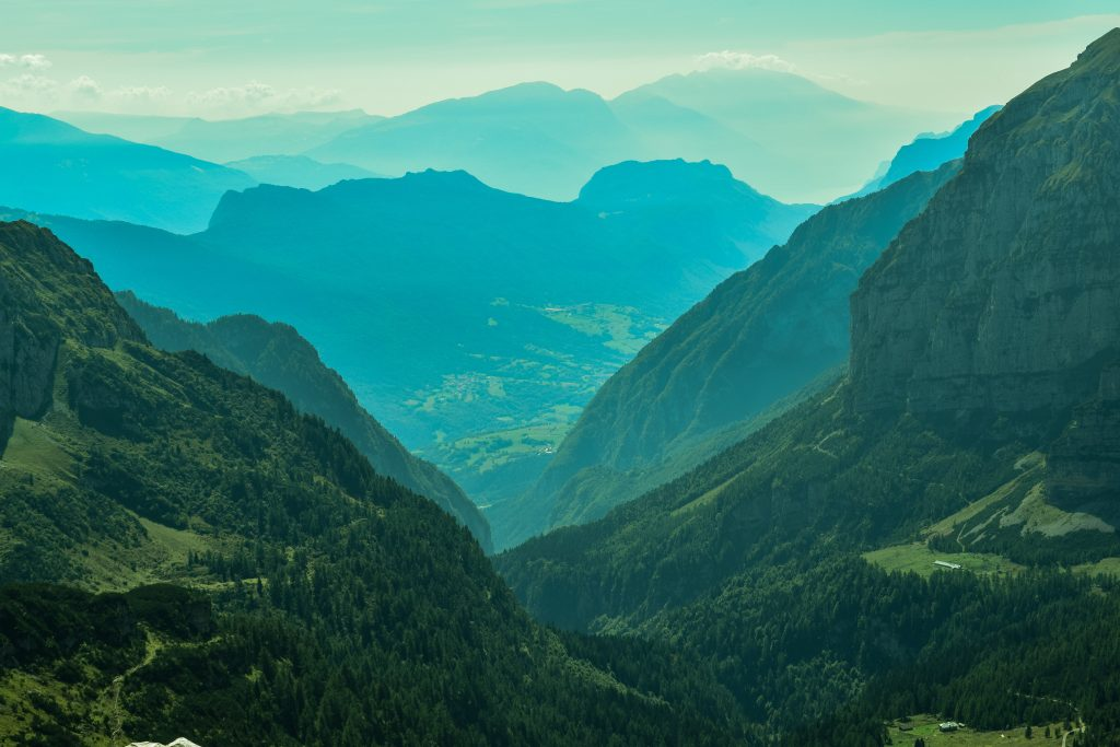 Hiking in The Dolomites in Photos.